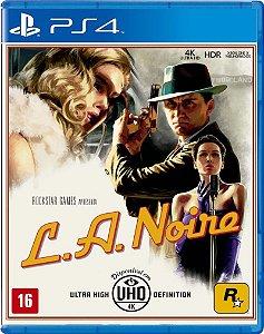 L.A. Noire - PS4 [Mídia Física]
