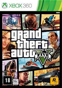 GTA V - Xbox 360 [Mídia Física]