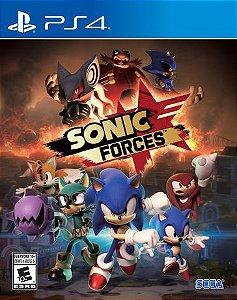 Sonic Forces - PS4 [Mídia Física]