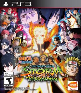 Naruto Shippuden: Ultimate Ninja Storm Revolution [PS3]