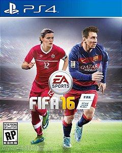 FIFA 16 PT-BR + Skin + FRETE GRÁTIS [Mídia Física]