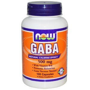 GABA 500 MG (100 CÁPSULAS) - NOW FOODS