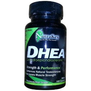 DHEA 100MG (100 CÁPSULAS) - NUTRAKEY