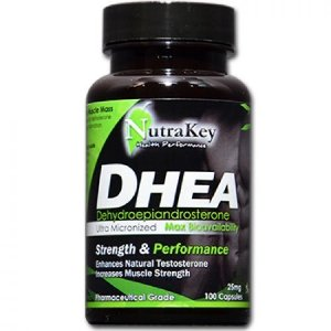 DHEA 25MG (100 CÁPSULAS) - NUTRAKEY