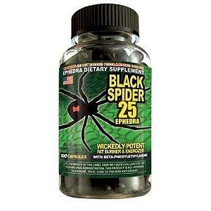 Black Spider 25  (100 Cápsulas) - Cloma Pharma