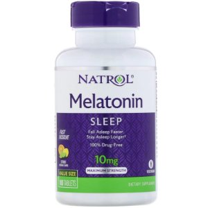 Melatonina 10mg Sublingual (100 Tabletes) - Natrol