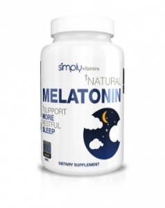 MELATONINA 3MG (100 TABLETES) - SIMPLY VITAMINS