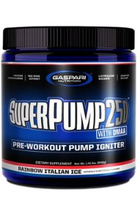 Super Pump 250 25 doses Gaspari Nutrition
