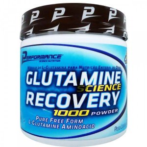 Glutamina Science Recovery (300g) - Perfomance