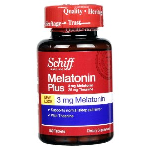 Melatonina Plus 3mg Com Anti-Stress (180 Tabletes) - Schiff