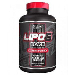 Lipo -6 Black Ultra Concentrado 120 Cápsulas Nutrex