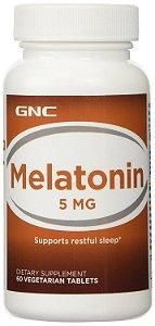 Melatonina 3mg,  5mg ou 10mg 60 Cápsulas GNC