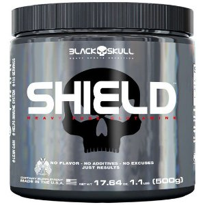 Glutamina Shield (500g) - Black Skull