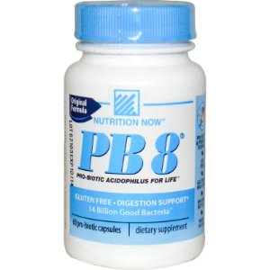PB8 Probiótico (60 Cápsulas) - Nutrition Now Vitamins