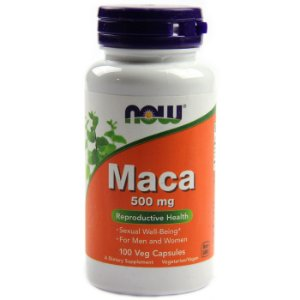 Maca 500mg (100 Cápsulas) - Now Foods