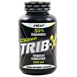 Tribulus Strong Trib-x 95% Sapominas 1200mg (100 Cápsulas) - NBF