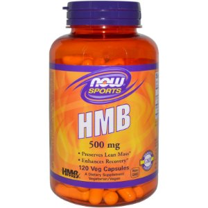 HMB 500mg (120 Cápsulas) - Now Foods