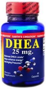 Dhea 25mg (60 Cápsulas) - Earth's Creation
