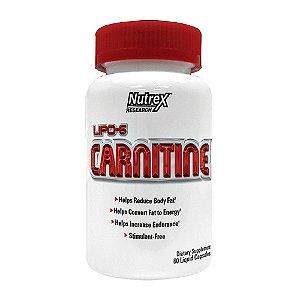 Lipo 6 Carnitina 60 Cápsulas - Nutrex