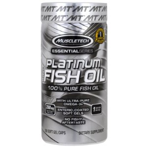 Platinum 100% Fish Oil 100 Cápsulas - Muscletech