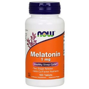 Melatonina 1mg (100 Tabletes) - Now Foods