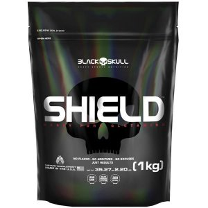 Glutamina Shield Refil 1kg - Black Skull
