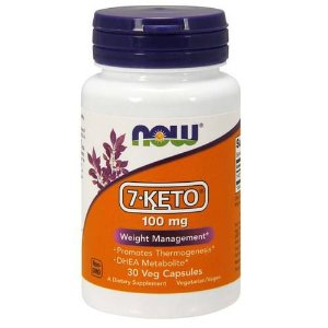 7-Keto 100mg (30 Cápsulas) - Now Foods