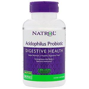 Probiótico 100mg Acidophilus 150 Cápsulas Natrol
