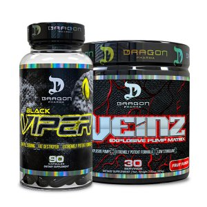 Combo Mr Veinz e Black Viper - Dragon Pharma