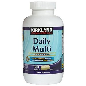 Multivitamínico Daily Multi 500 Tabletes - Kirkland Signature