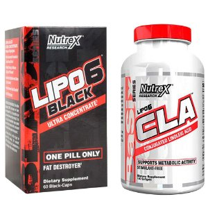 CLA 45 Caps + Lipo -6 Black Ultra Concentrado 60 Caps Nutrex