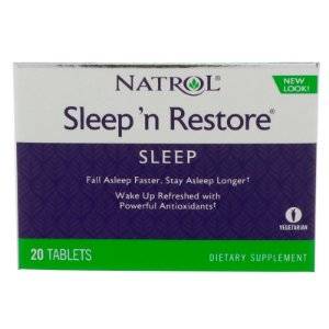 Sleep Restore 20 Tablets Natrol
