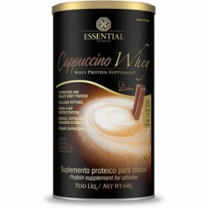Cappuccino Whey 448g Essential Nutrition