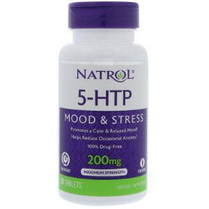 5-HTP Time Release 200mg 30 Tabletes Natrol
