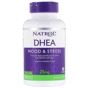 Dhea 25mg 300 Tabletes Natrol
