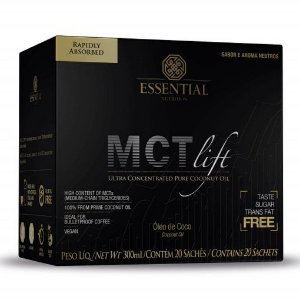 MCT Lift 20 Sachês Essential Nutrition