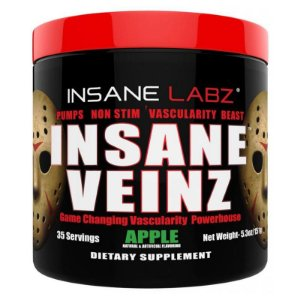 Vasodilatador Insane Veinz 151g Insane Labz