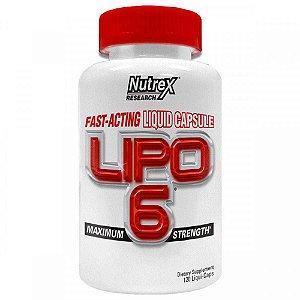 Lipo -6 120 Caps Nutrex