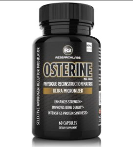 Osterine MK-2866 Ostarine 12,5mg 60 Caps R2 Research Labs
