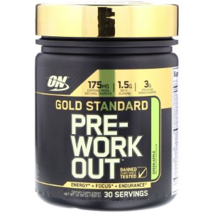Pre Workout Gold Standard 300g 30 doses Optimum Nutrition