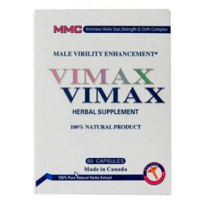 Vimax 60 Caps Herbal Supplement