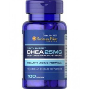 Dhea 25mg 100 Tabletes Puritans Pride