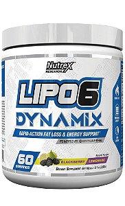 Pré-Treino Lipo-6 Dynamix 258g Nutrex