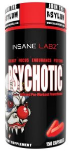 Psychotic 150 Caps Insane Labz