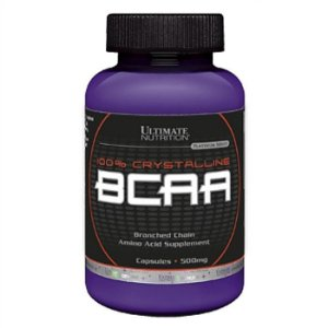 100% Crystalline Bcaa 500mg 200 cápsulas Ultimate Nutrition
