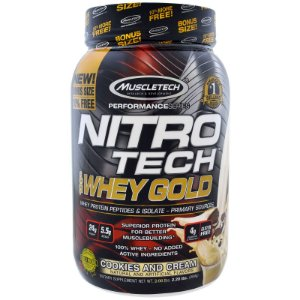 Nitro Tech 100% Whey Gold 999g Muscletech