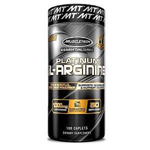 Platinum 100% L-Arginina 100 Caps Muscletech