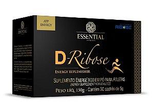 D-Ribose 30 Sachês 5g Essential Nutrition