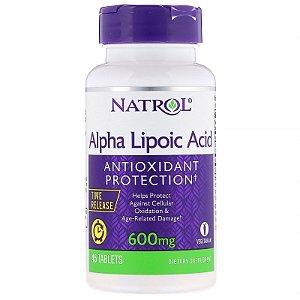 Ácido Alfa Lipóico Time Release 600mg 45 Comprimidos Natrol