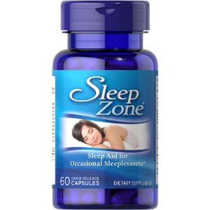 Sleep Zone Melatonina 10mg 60 Caps Puritans Pride